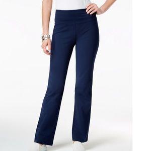 Women's Tummy Control Boot-Cut Pull-On Pants